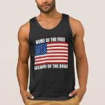 Hogar del libre debido al valiente camiseta