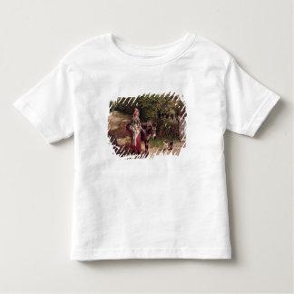 Hogar del mercado (aceite en lona) camisas