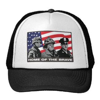 Hogar del valiente gorra