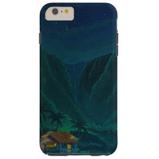 Hogar del valle de Wainiha en una noche estrellada Funda Para iPhone 6 Plus Tough