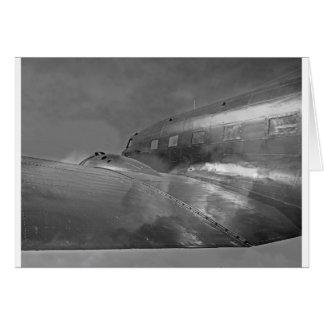 Hogar del vuelo de los aviones de Douglas DC-3 Dak Tarjetas