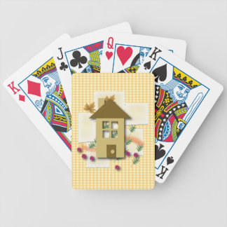 Hogar dulce casero baraja cartas de poker