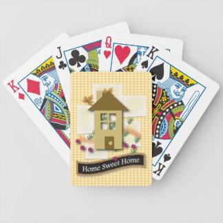 Hogar dulce casero cartas de juego