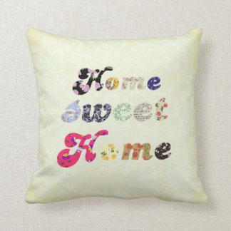 Hogar dulce casero almohadas