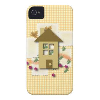 Hogar dulce casero iPhone 4 Case-Mate cobertura