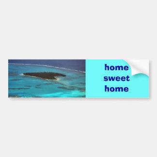 hogar dulce casero pegatina para auto