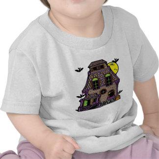 Hogar frecuentado feliz extravagantemente camisetas
