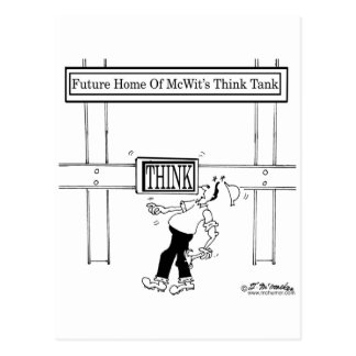 Hogar futuro de un laboratorio de ideas postal