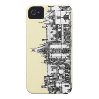 Hogar gótico en tinta iPhone 4 fundas