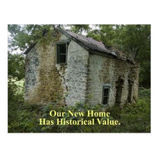 Hogar histórico del valor - cambio de dirección postales