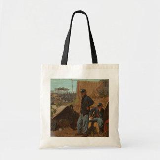 Hogar, hogar dulce, c.1863 (aceite en lona) bolsas de mano