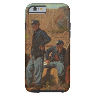 Hogar, hogar dulce, c.1863 (aceite en lona) funda resistente iPhone 6