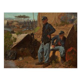 Hogar, hogar dulce, c.1863 (aceite en lona) postal