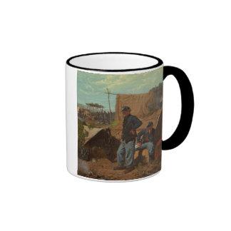 Hogar, hogar dulce, c.1863 (aceite en lona) taza de café