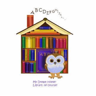 ¡Hogar ideal - biblioteca! Escultura Fotografica