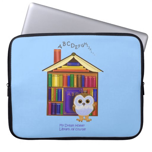 ¡Hogar ideal - biblioteca! Funda Portátil