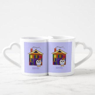 ¡Hogar ideal - biblioteca! Set De Tazas De Café
