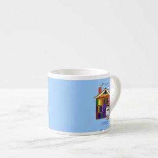 ¡Hogar ideal - biblioteca! Taza Espresso