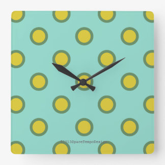 Hogar-mercancías modernas gráficas reloj cuadrado