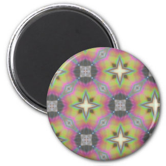Hogar multicolor de la oficina del regalo, product imán redondo 5 cm