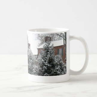 Hogar para el navidad taza básica blanca