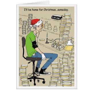 Hogar para Navidad Tarjeta De Felicitación