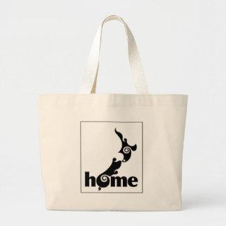 """HOGAR """"productos del orgullo de Nueva Zelanda """" Bolsa Tela Grande"""