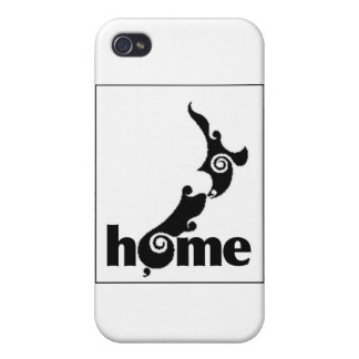 """HOGAR """"productos del orgullo de Nueva Zelanda """" iPhone 4 Fundas"""