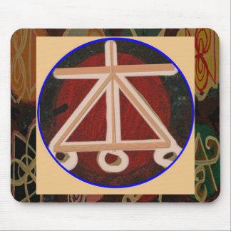 HOGAR - símbolo curativo de Karuna Reiki Tapete De Ratones