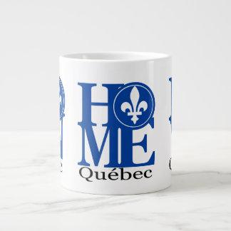 HOGAR, taza de Quebec 20oz LLEVADO y del AMOR Taza Grande