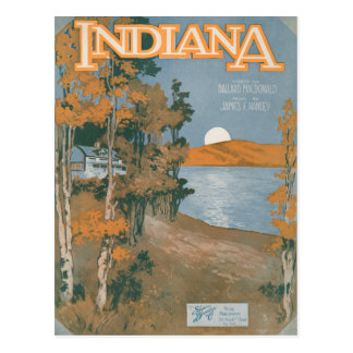 Hogar trasero otra vez en Indiana Postal