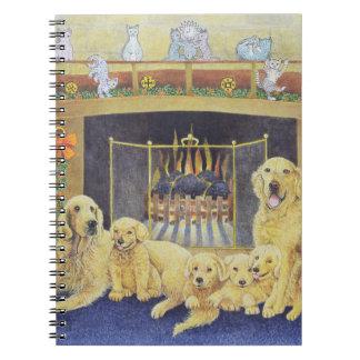 Hogar y hogar spiral notebooks