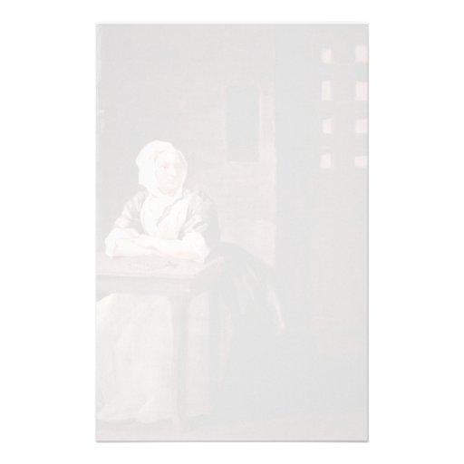 Hogarth-Retrato de Guillermo de la prisión de Sara Papeleria De Diseño