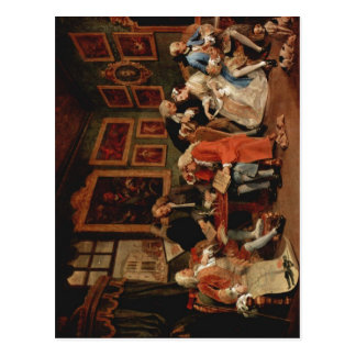 Hogarth, William Marriage ?-la-mode: The Marriage  Postcard