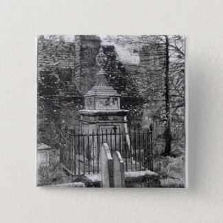 Hogarth's tomb in Chiswick Churchyard Pinback Button