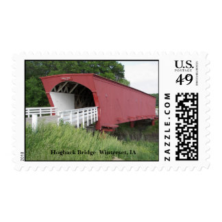 Hogback Bridge  Winterset, IA Postage
