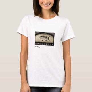 Hogfish Women's Vintage Black & White Apparel T-Shirt