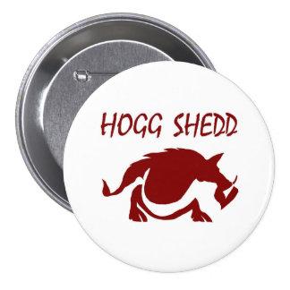 HoggSheddLogo-1C (JPEG) Pin Redondo De 3 Pulgadas