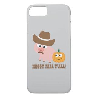 Hoggy Fall Y'all! iPhone 7 Case