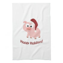 Hoggy Holidays! Towel
