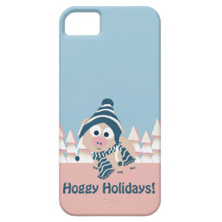 Hoggy Holidays! Winter Pig iPhone SE/5/5s Case