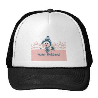 Hoggy Holidays! Winter Pig Trucker Hat