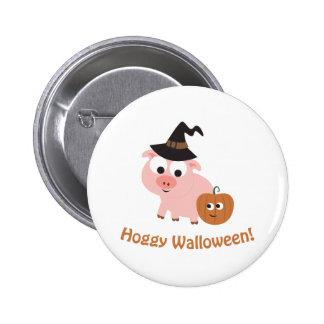 Hoggy Walloween! Button