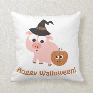 Hoggy Walloween! Pillow