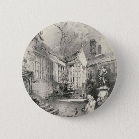 Hoghton Tower Pinback Button