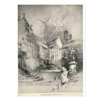 Hoghton Tower Post Card