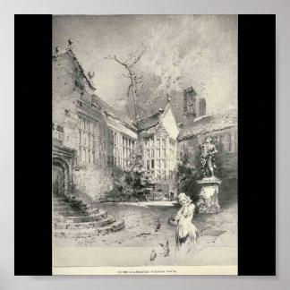 Hoghton Tower Print