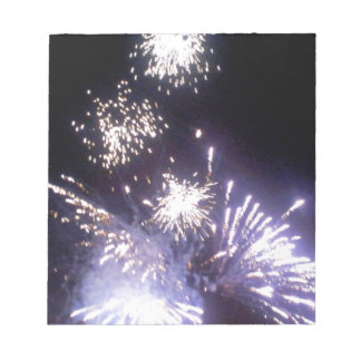Hogmanay Fireworks Note Pads