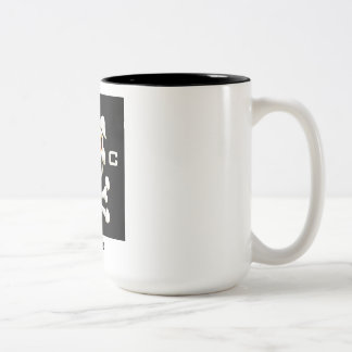 Hogs Collective !coffee Two-Tone Coffee Mug