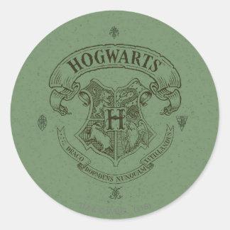HOGWARTS™ Banner Crest Classic Round Sticker
